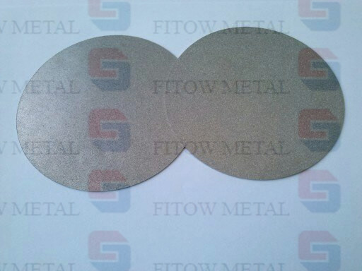 Micron Sintered Metal Filter Disc