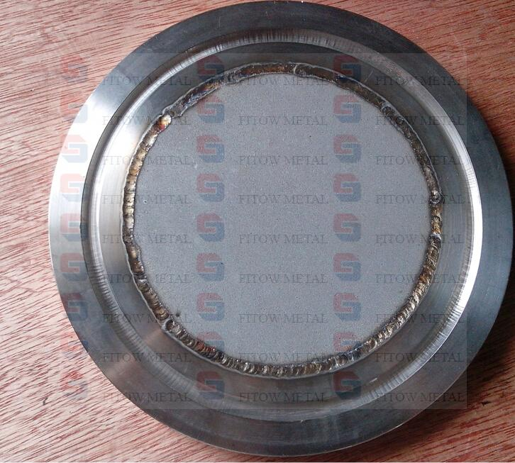 powder stainless steel filter plate with seal groove