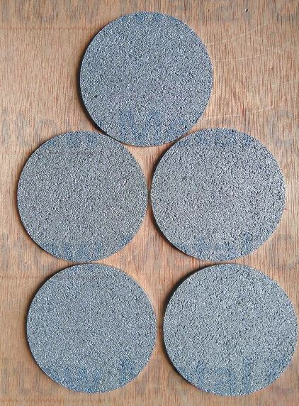 porous metal Ti titanium filter disc od50*1.6mm