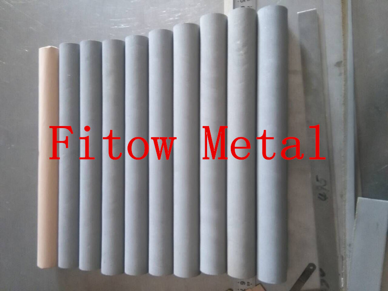 SS powder metal  sintered filter tube OD40* 360 long