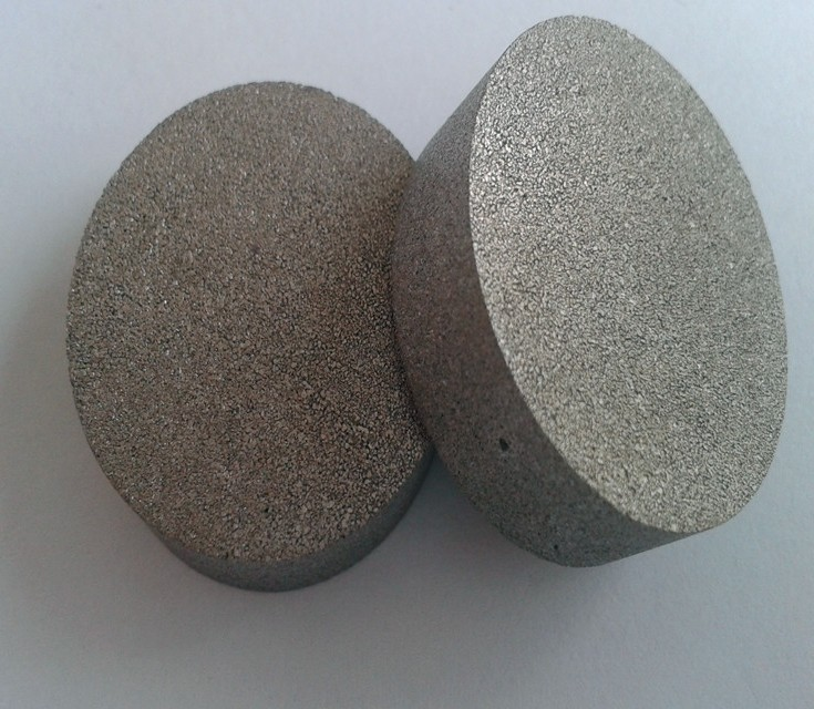 Efficient microporous metal powder sintering block dia120*H80