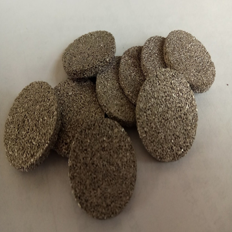 Sintered Metal Powder Porous Filter Elements OD25*3mm