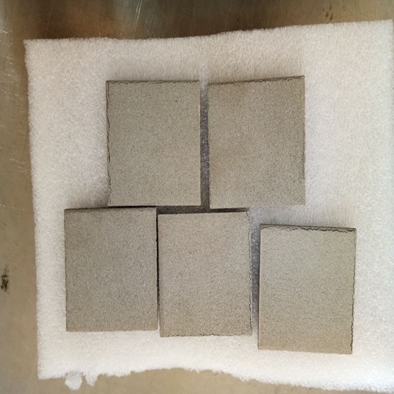 powder sinter stainless steel filter plate 2.8mm