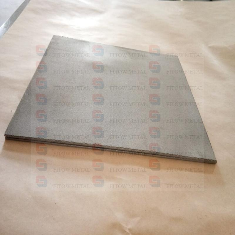 Powder Sintered Stainless Steel ​Filter Plate​ thickness 2.9mm