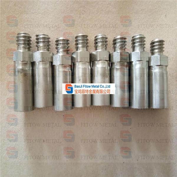 Sintered porous metal filter elements OD12.5*20