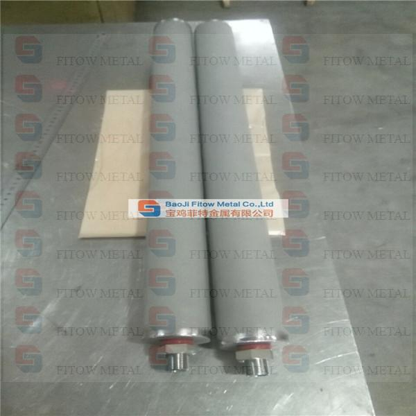 Ti Sintered Powder Filter Cartridge OD60*600Mm